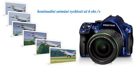 K-30 - souvislé snímání