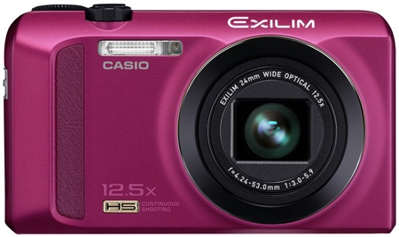 Casio Exilim EX-ZR200 en face