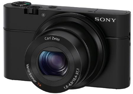 Sony Cyber-shot DSC-RX100 – klasický 3/4 pohled