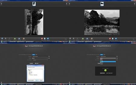 scan čb fotografie
