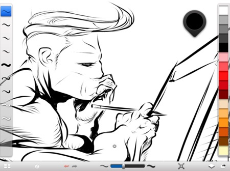 Autodesk SketchBook Ink for iPad