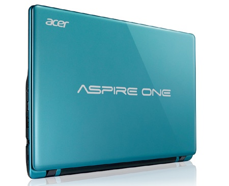 Acer Aspire One 725 Caribbean blue