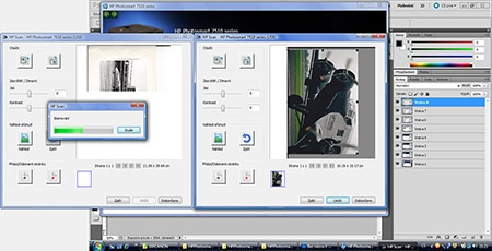 HP 7510 eaio - skenování