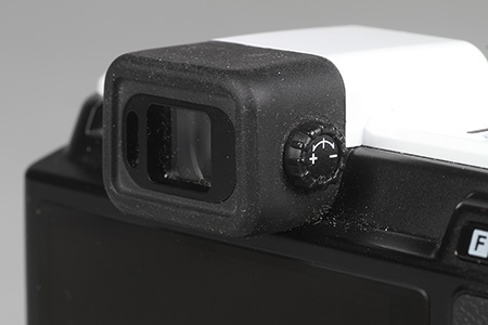 Nikon V1 - hledáček