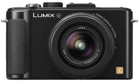 Panasonic Lumix LX7 en face