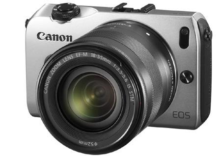 Canon EOS M – kompaktní systém s výměnnými objektivy