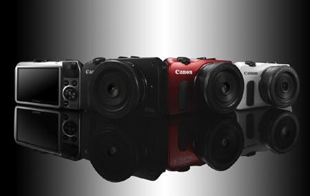 Canon EOS M - ilustrace