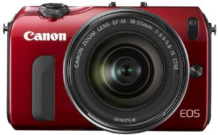 Canon EOS M zepředu