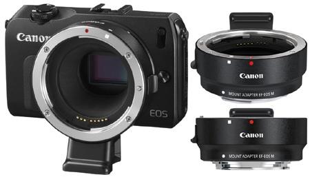 Adaptér EF-EOS M