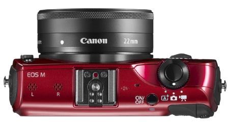 Canon EOS M shora