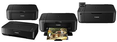Čtyři multifunkce Canon PIXMA se software My Image Garden