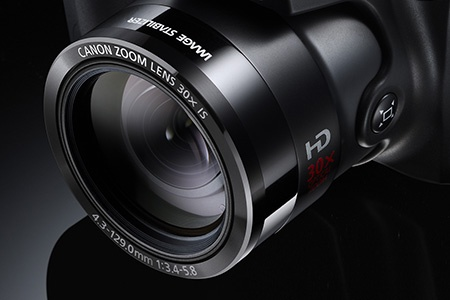Canon PowerShot SX500 IS - zoom v detailu