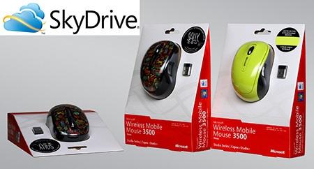bezkabelové designové myši Microsoft Wireless 3000