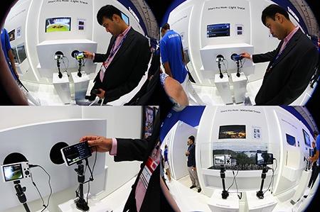 IFA 2012: o Samsung GALAXY Camera byl živý zájem