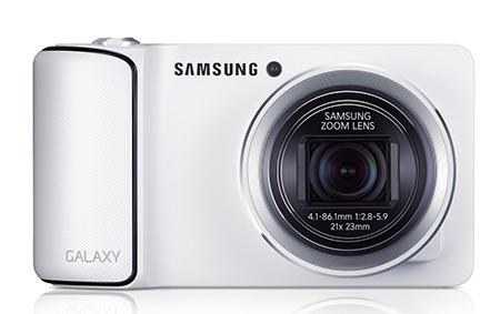 fotoaparát Samsung GALAXY en face