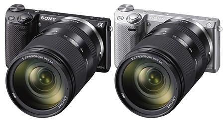 Sony Alfa NEX-5R s integrovaným Wi-Fi modulem