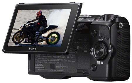 Sony Alfa NEX-5R - výklopný displej