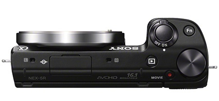 Sony Alfa NEX-5R shora