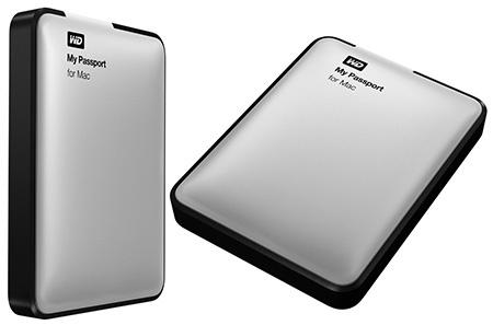 WD přenosný pevný disk My Passport pro Mac