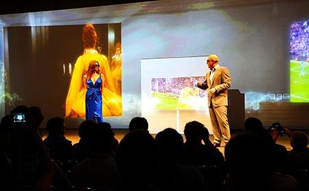 Samsung na IFA 2012: 3D TV, OLED TV, ovládání gesty a hlasem