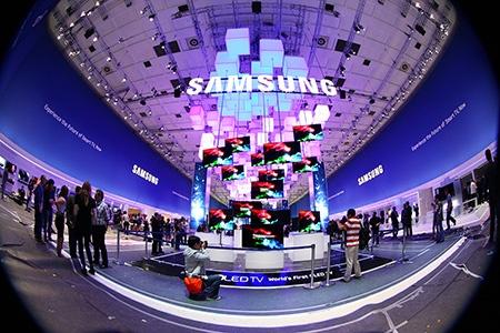 Samsung na IFA 2012: expozice před zahájením veletrhu