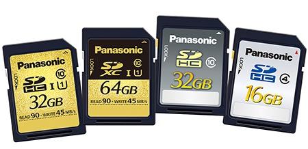 Panasonic na IFA 2012: paměťové karty SDHC/SDXC