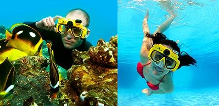 Liquid Image - potápěčské brýle s digitální kamerou