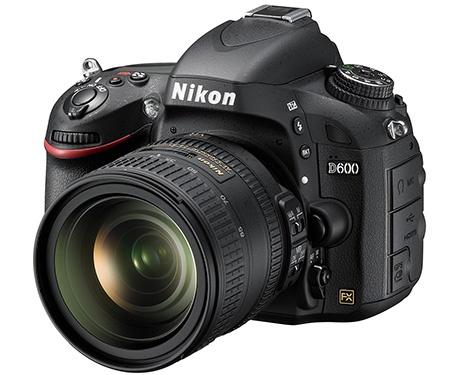 Nikon D600 + objektiv 24-85 mm