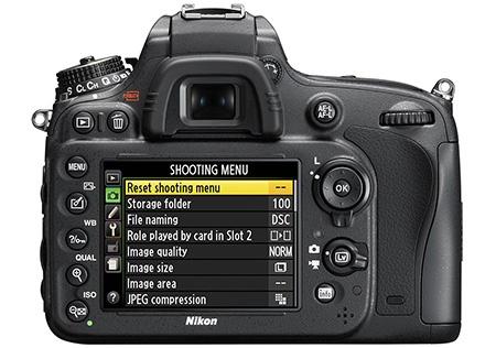 Nikon D600 - hledáček a displej