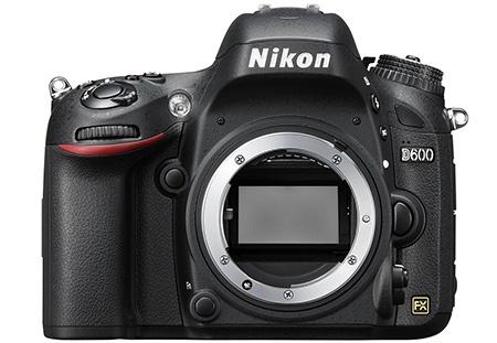 Nikon D600 - bajonet