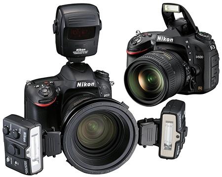 Nikon D600 blesk interní a systém R1C1