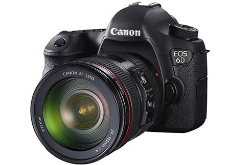Canon EOS 6D - klasický 3/4 pohled