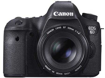 Canon EOS 6D s 50mm základním objektivem