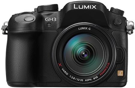 Panasonic Lumix GH3 - en face