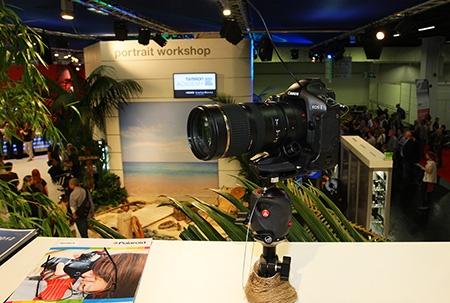 Tamron SP 70–200 mm 1:2,8 Di VC USD na výstavě Photokina 2012