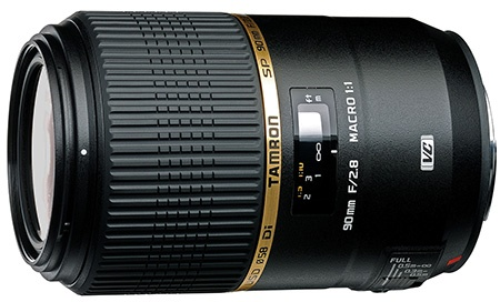 Tamron SP 90 mm 1:2,8 Di Macro 01:01 VC USD