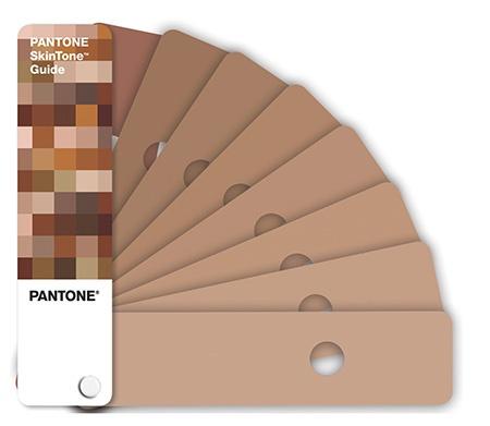 Pantone SkinTone vzorník