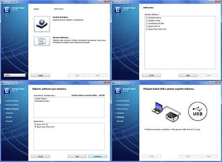 Epson L800 - instalace I