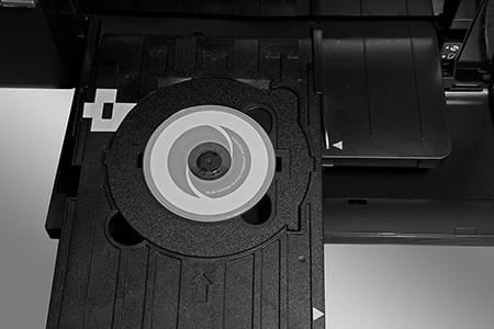 Epson L800 - potisk 8cm disku
