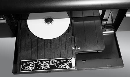 Epson L800 - potisk 12cm disku
