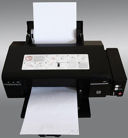 Epson L800 v akci