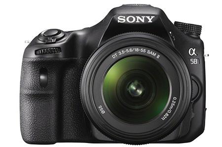 Sony SLT Alpha 58 en face
