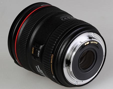 Canon EF 24–70 mm 1:4L IS USM - pohled