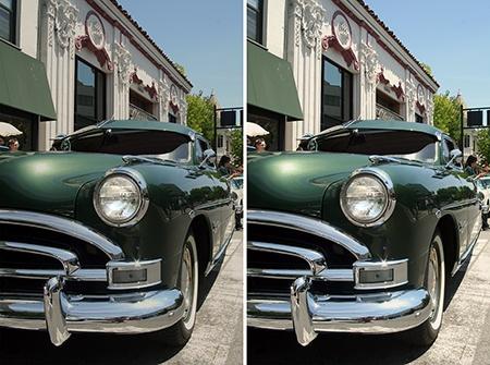 Adobe Photoshop CS6: lekce I - snímek původní vs. upravený