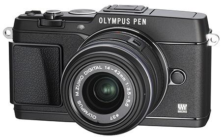 Olympus Pen E-P5 - komplet černé provedení