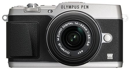 Olympus Pen E-P5 - černo-stříbřité retroprovedení