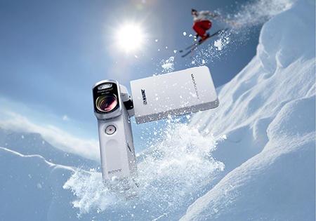 Sony Handycam HDR-GW66VE - bílá v akci