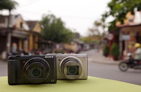 Sony Cyber-shot DSC-HX50/HX50V - ilustrační snímek