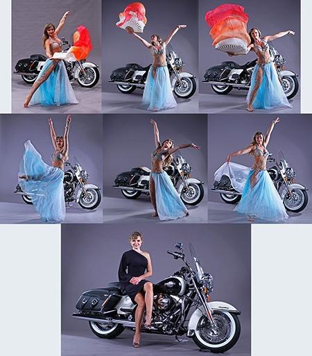 Silvia a Harley
