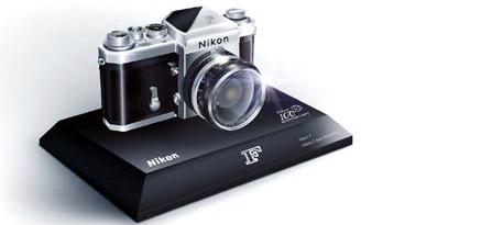 Miniatura fotoaparátu Nikon F
